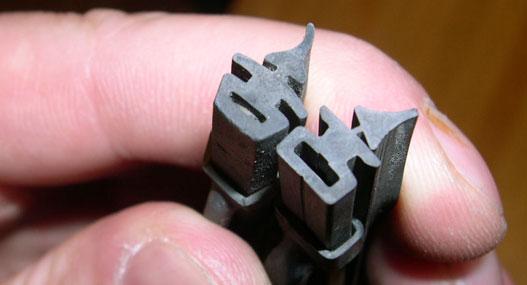 Az eredeti és a Bosch gumi profilja szinte egyforma