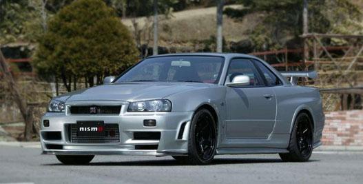 Nissan Skyline GT-R, azaz egy ATTESA-ETS Pro-s autó