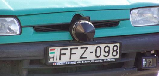 A Multanova 6F-et előszeretettel szerelik a Skodák hűtőmaszkjába