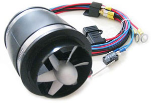 B&B performance line electric supercharger system