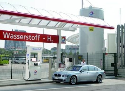 Hidrogénkút és hidrogénhajtású autó