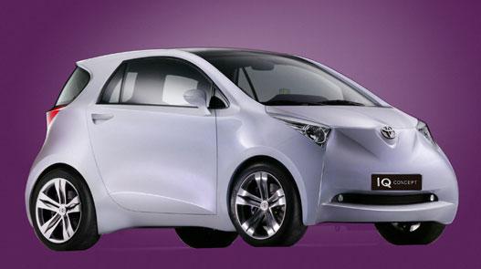 Toyota iQ, ami nincs 3 méteres