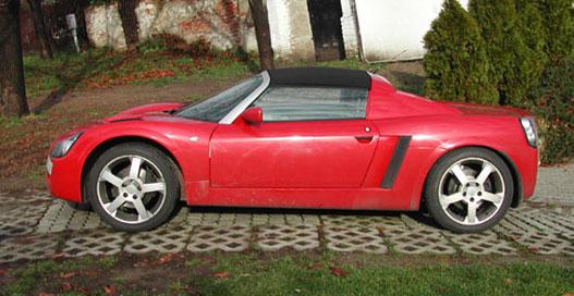 Ez az Opel Speedster