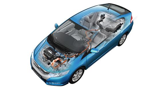 Benzines blokk, villanymotor, CVT váltó