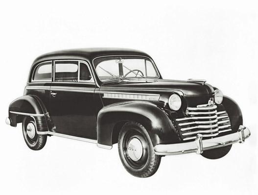 Opel Olympia 1950-1951