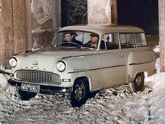 Opel Olympia Rekord Caravan 1956