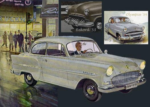 Opel Olympia Rekord 1953-1957