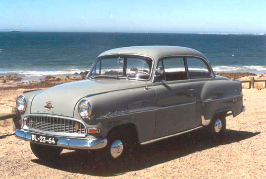 Opel Olympia Rekord 1956