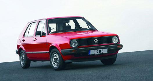 Golf II. 1983-1991