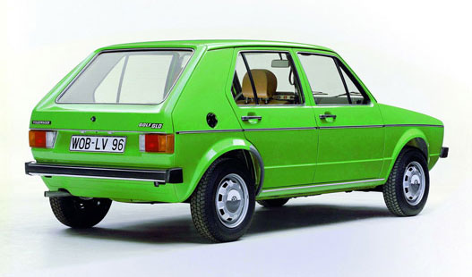Golf I. diesel (1977)