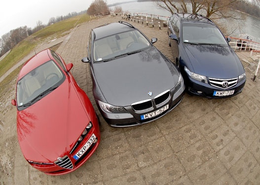 Nördök az Alfát, az autót autónak használók a Hondát vigyék. Ezek szerint a BMW a középszer?