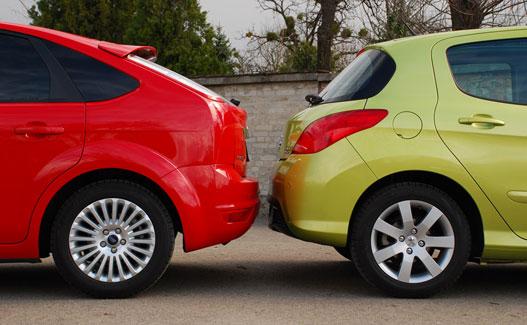 A focust a felnije adja el, a Peugeot-nak meg az a legszolidabb része