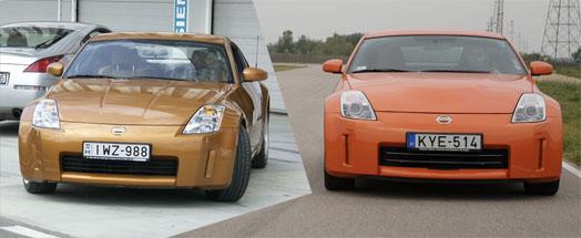 Balra a régi, jobbra az új: a domborodó motorháztetőre a 80 százalékig átdolgozott V6-os miatt volt szükség