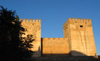 Az Alcazaba torony
