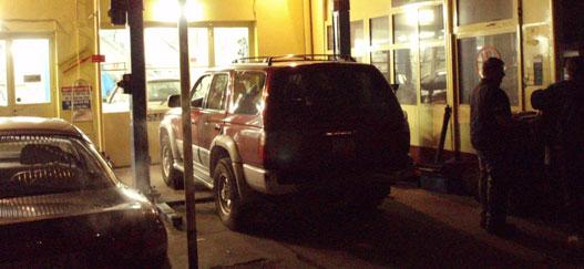 Az első éjszakai vizit Mazda Mesternél