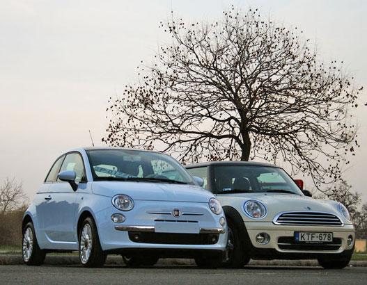 Látszik, hogy a Mini drágább, komolyabb autó?