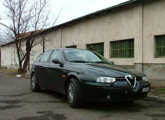 totalcar tesztek haszn ltteszt alfa romeo 156 sportwagon 2 5 v6 24v q system. Black Bedroom Furniture Sets. Home Design Ideas
