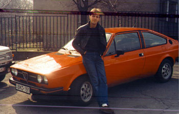 Ez volt a gyűlöletes Alfasud Sprint 1992-ben