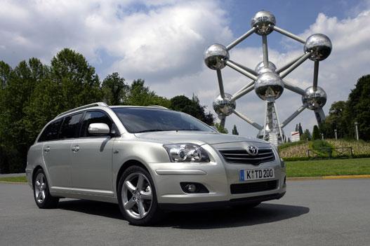Az Atomiumnál valóban formásabb az Avensis