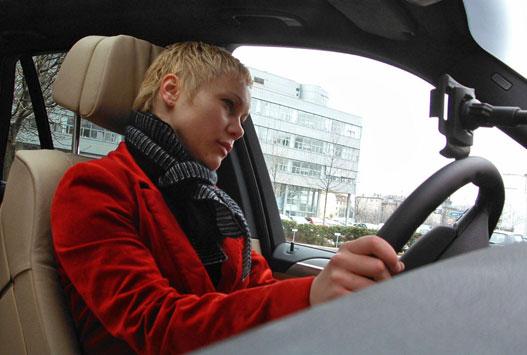 Az alkalmatlan személyi sofőr