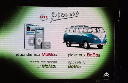 Az iPodot és a VW T1-est mindenki szereti; a Citroën azt reméli, a C3 Picassóval is így lesz