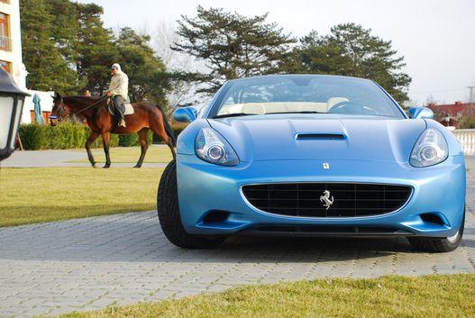 Hiteles Ferrari-biotóp