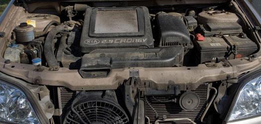 Hangos, de erős a dízelmotor