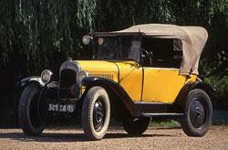 Citroën 5CV, az eredeti