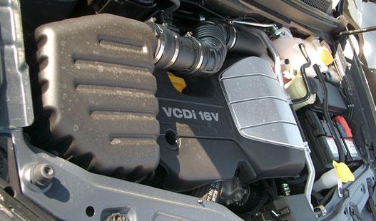 A VM Motori fejlesztette, Dél-Koreában gyártják