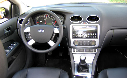 Tipikus Ford-belső