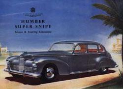 Super Snipe poszter 1948-ból