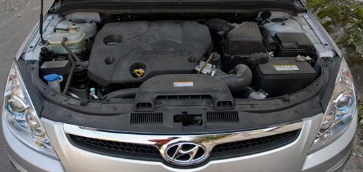 Kifejezetten dinamikus az 1,6-os dízelmotor
