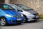 Összehasonlító teszt: Honda Jazz 1.4 Elegance - Mercedes-Benz A150 Avantgarde