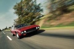Lamborghini Espada menet közben. Fotó: Fenyő Balázs
