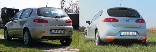 Alfa 147 - Seat Leon