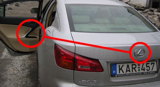 L, mint Lexus