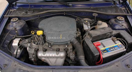 Fürge és kulturált Renault motor. Tökéletesen illik az autóba