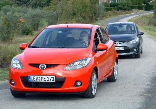 Mazda 2 TE és GT