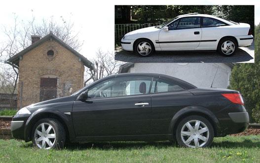Opel Calibra arányok