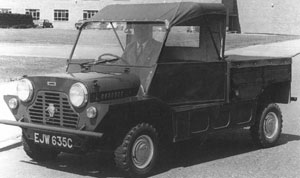 Mini Moke pickup '65-ből