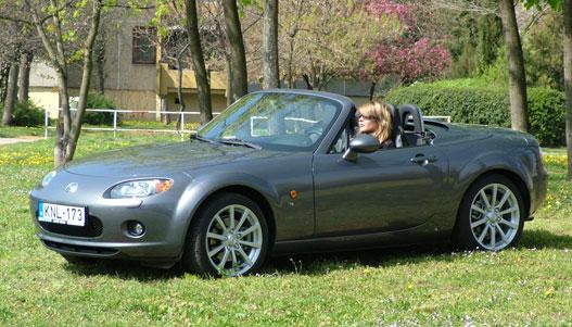Ki merné vitatni, hogy egy fiatal szőke illik legjobban az autó karakteréhez