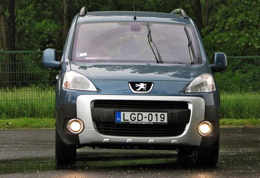 Az új Partner/Berlingo páros az első személy-haszonjármű,ami minőségben felér a kompakt kombikhoz