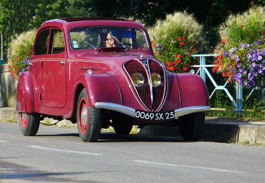 Mennyei vonalak, ezt tudta a Peugeot 1939-ben