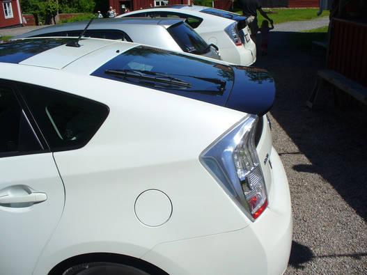Látszik, mennyivel hosszabb a Prius
