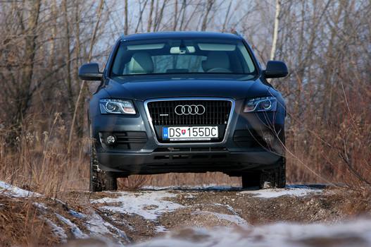 Kellő szigor és agresszivitás, ez a mai Audi
