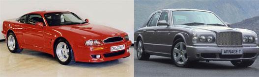 Élet a Rodius előtt: Aston Martin Virage és Bentley Arnage