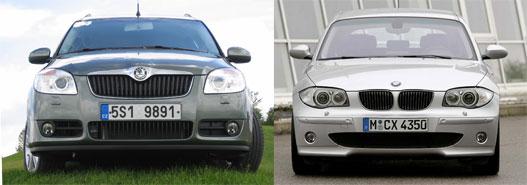 Roomster és az egyes BMW