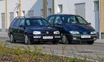 Használtteszt: Renault Mégane Scénic 1.6 ('98) – VW Golf III Variant 2.0 ('96)