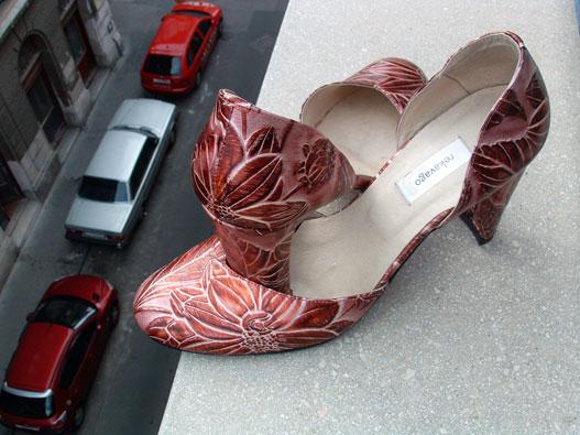 Méretes autó méretre készült cipővel