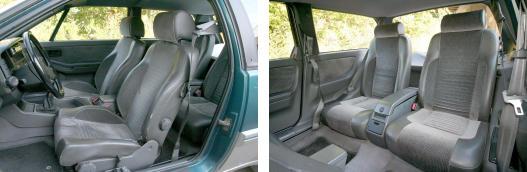 Egy autó, amiben az ülések is szépek